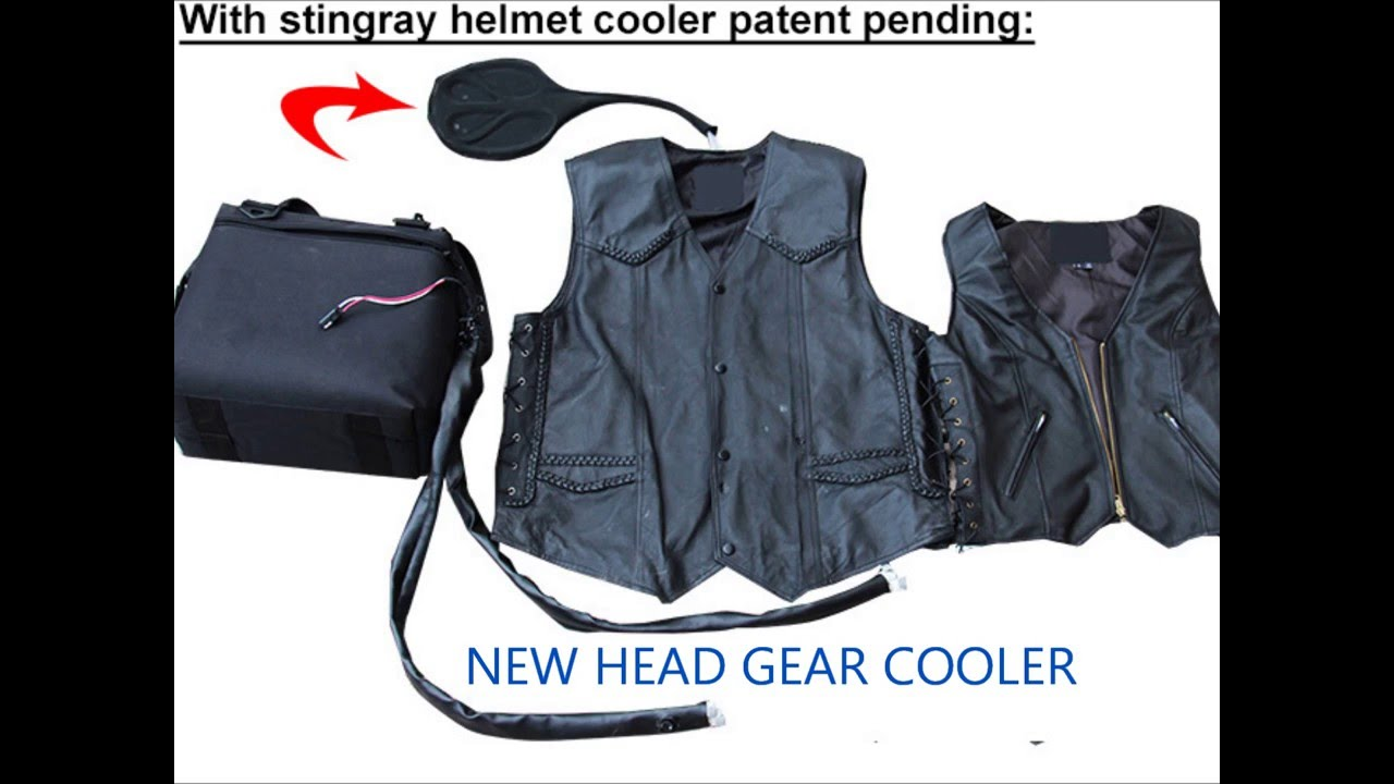 Air Conditioned Motorcycle Vest Youtube