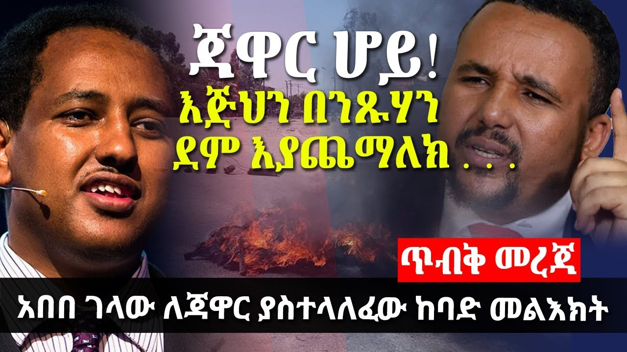 Abebe Gelaw's Response On Current Ethiopian Situations