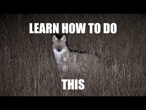 """Night Crew S4E2 """"NIGHT HUNTING 101""""…the most informative night hunting video EVER made!"""