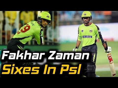 Lahore Qalandars Fakhar Zaman | Fakhar e Pakistan Biggest Sixes In PSL 2018 | HBL PSL 2018