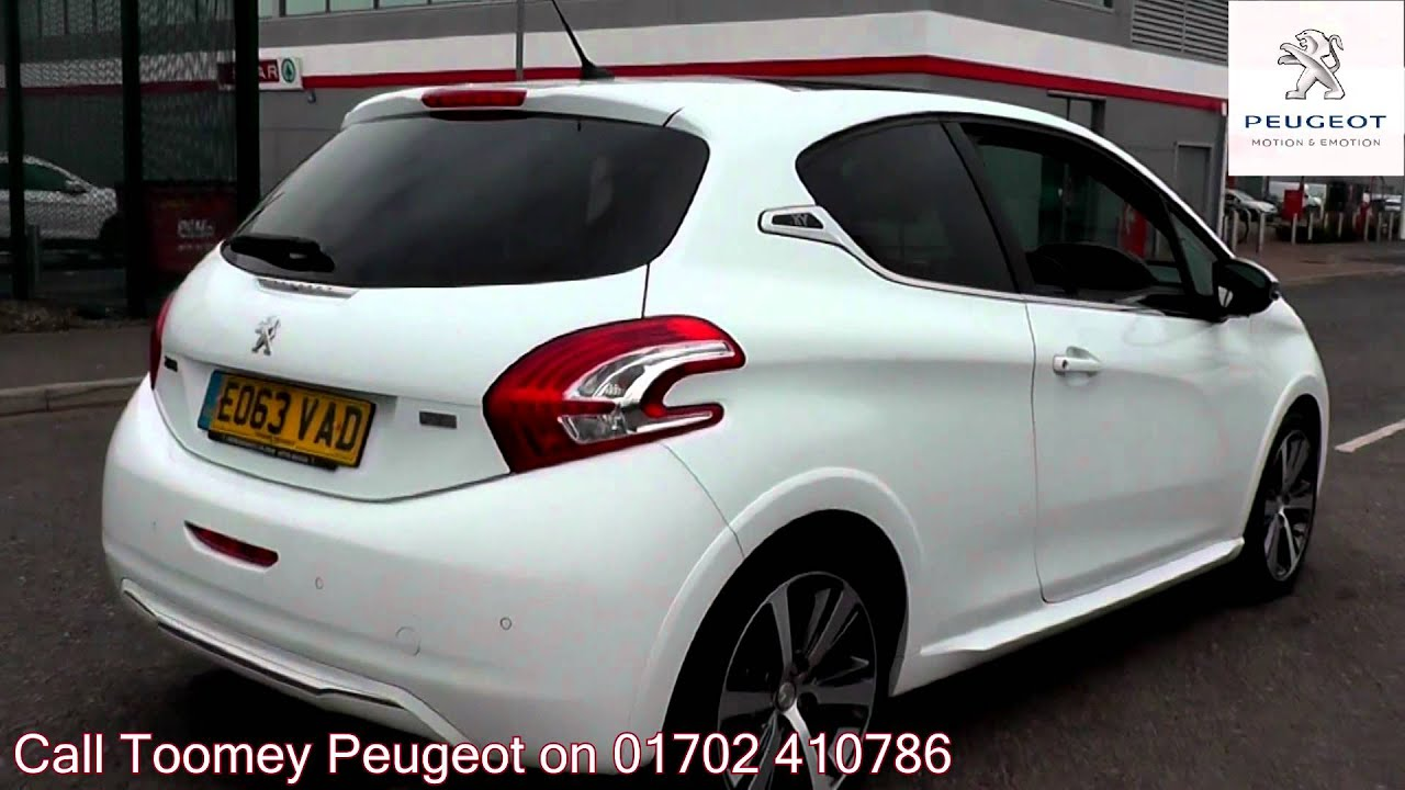 2013 peugeot 208 xy bianca white metallic eo63vad for sale at toomey peugeot southend youtube. Black Bedroom Furniture Sets. Home Design Ideas