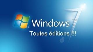 Repeat youtube video [TUTO Fr] Installer Windows 7 et l'activer légalement !
