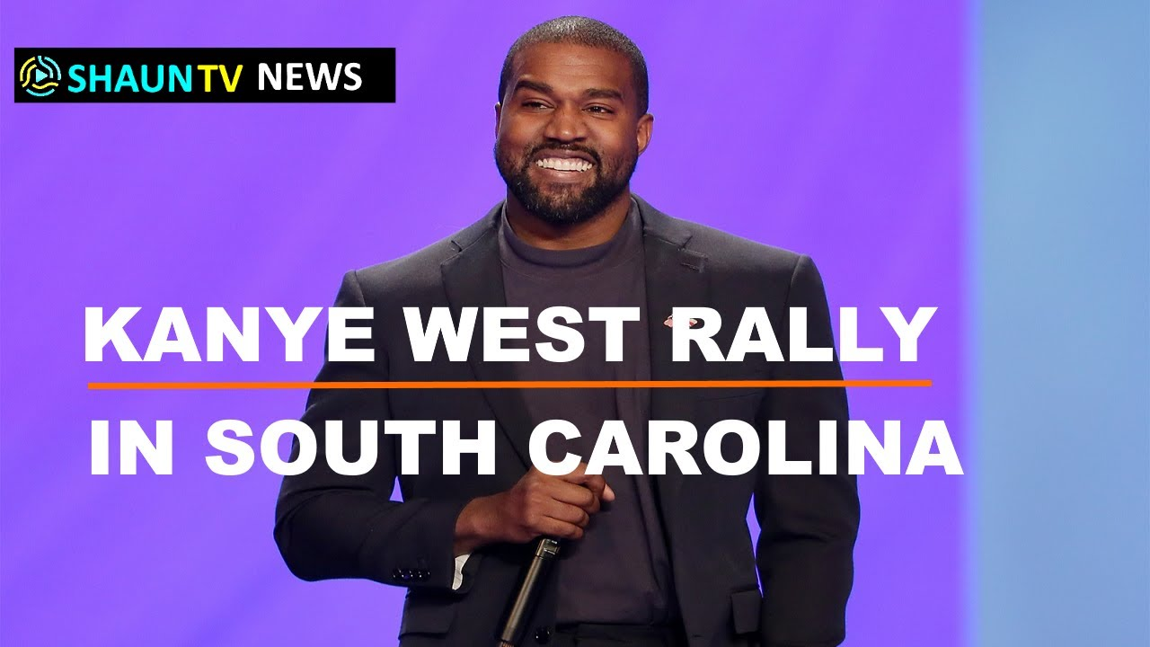 #KanyeWest holds #campaign event in South #Carolina