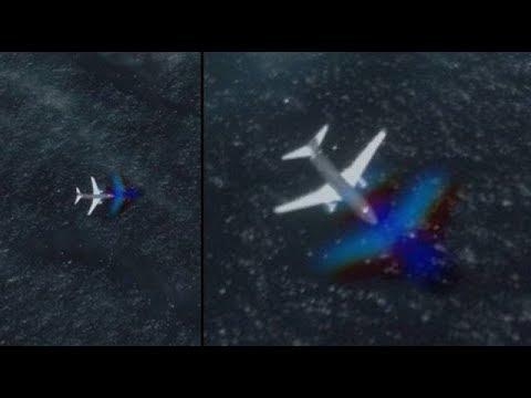 nouvel ordre mondial | Un avion à la recherche d'une base alien repéré sur Google Earth