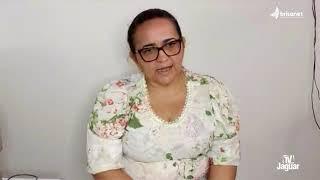 Secretária Irinélia Olímpio fala da educação na pandemia e que escolas públicas seguem sem aulas.