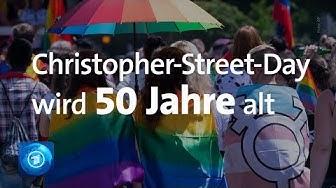 Christopher-Street-Day: 50 Jahre Protest für Rechte von Homosexuellen