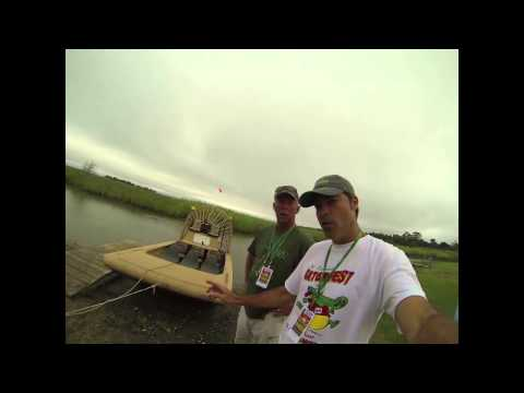 Dee Angle's Guide Service Airboats - Texas Gatorfest 2014