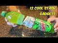 12 Cool Stash Gadgets