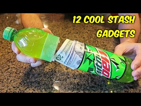 12 Cool Stash Gadgets