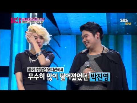 SBS [KPOPSTAR3] - 배틀오디션 2조, 알맹(JYP)의 'UGLY' 그리고 심사위원들의 뜨거운 눈물