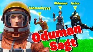 Oduman sagt mit den Schlechtesten Spieler!