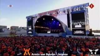 Armin van Buuren - Intense (Dj Armin van Buuren и Король Нидерландов)