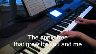 Bee Gees - First of May - Piano (with Lyrics)