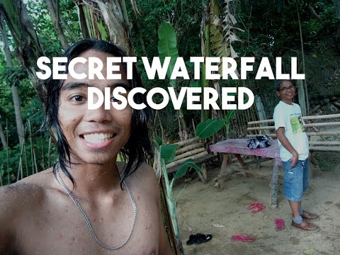 Secret Waterfall Discovered Vlog 08 (Bayawan)