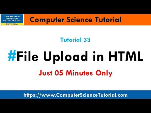 File Upload In HTML