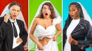 Types of Brides / 14 Funny and Awkward Moments