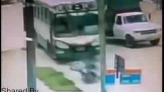 CCTV Footage of road accident
