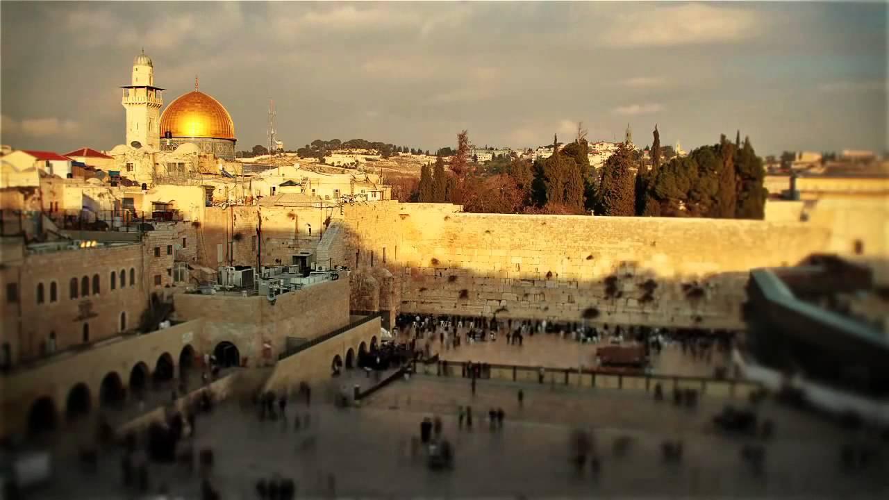 Report From Jerusalem >> Jerusalem - Bird View (HD) - YouTube
