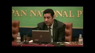 アルアハラム紙編集主幹を囲む会 2012.11.12