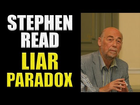 Stephen Read: Liar Paradox | Who Shaves the Barber? #41