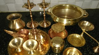 How To Clean Pooja Vesseles (Brass) In Easy Method In Tamil