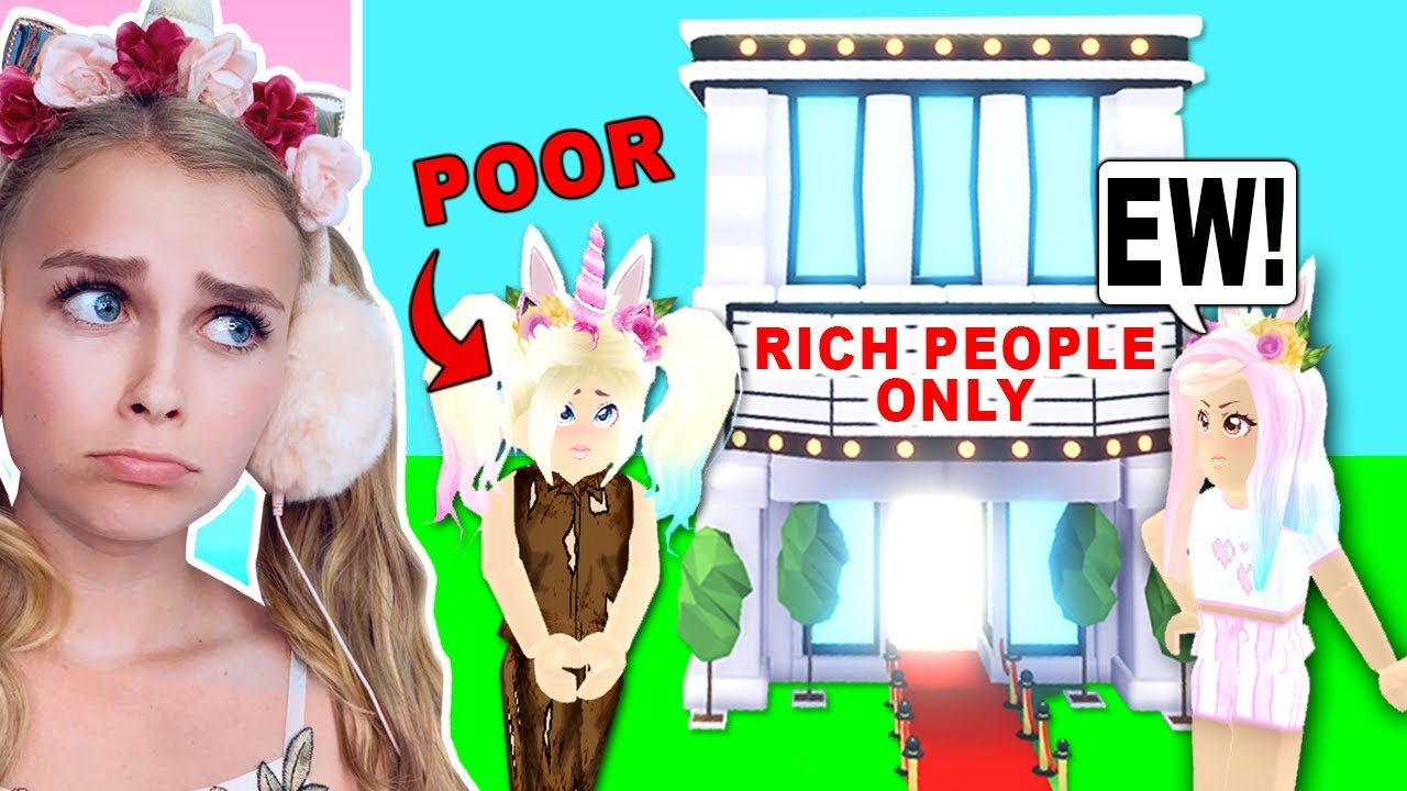 Goldigger Bought A Rich People Only Hollywood Mansion In Adopt Me
