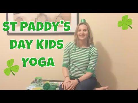 Lucky Leprechaun Kids Yoga Class for St Patrick's Day