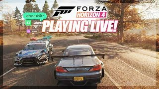 Forza Horizon 4 - LIVE Q&A ABOUT THE GAME!
