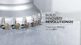 MFK Multi-Edge Milling Cutter for Cast Iron