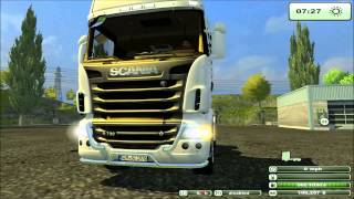 Farming Simulator 2013 Mod Scania R730 Wheelie