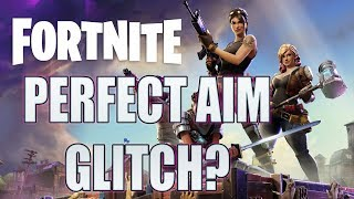 How to have perfect aim in Fortnite. SERIOUSLY. (controller / console) works on pc too.