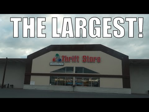 The LARGEST Thrift Store In America!