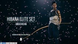 Hibana Elite Skin MVP Animation Onkochishin Rainbow Six Siege