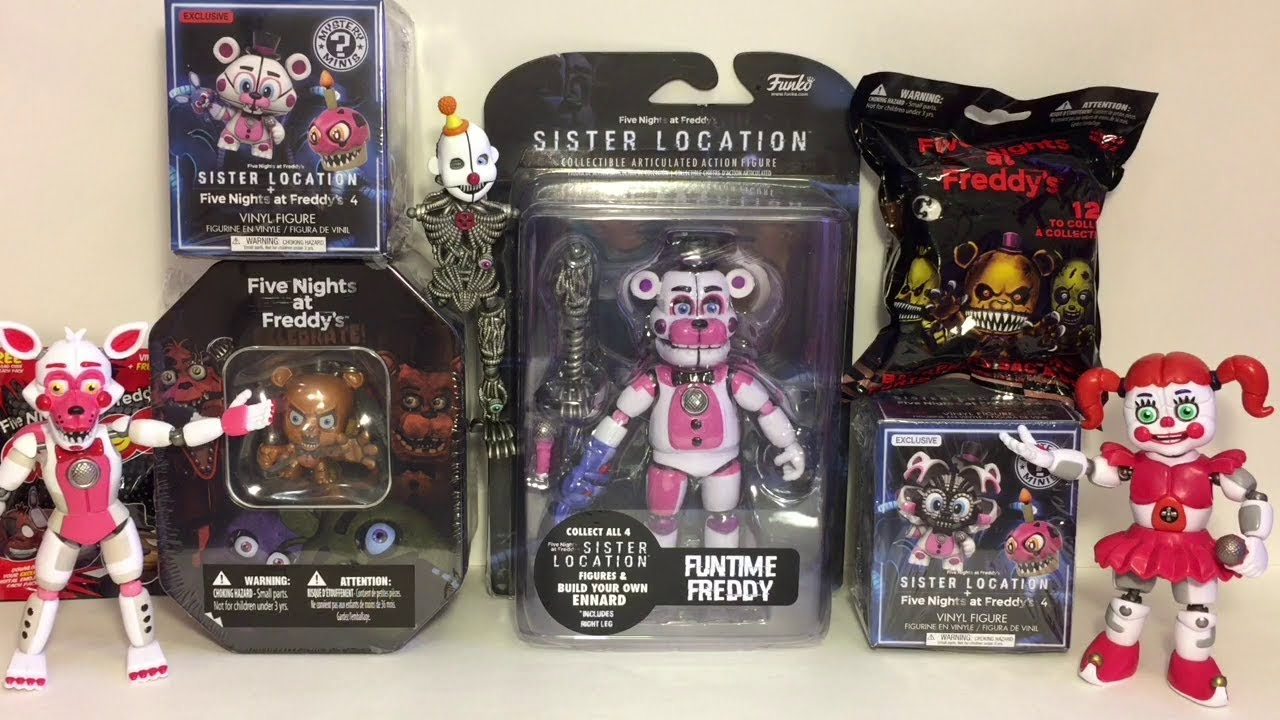 """Five Nights at Freddy/'s 6/"""" Figure Funtime Freddy"""