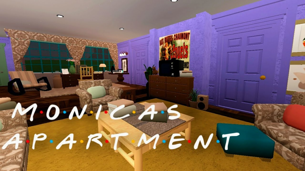 Download Bloxburg: Monica's Apartment - Friends | 69K