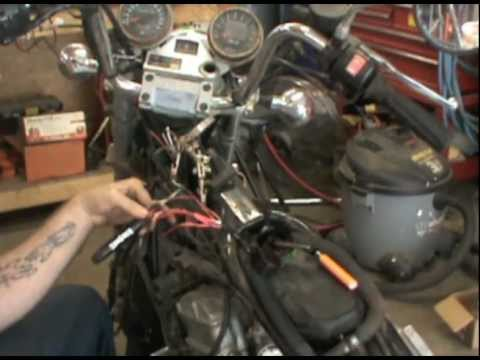 hqdefault 1991 kawasaki vulcan wiring youtube Kawasaki Vulcan 1500 Wiring Diagram at bayanpartner.co