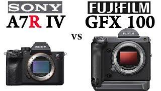 Sony a7R IV vs Fujifilm GFX 100