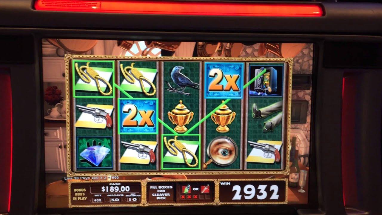 CLUE Slot Machine