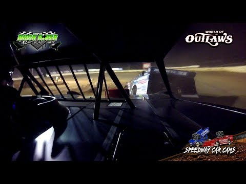 #44 Chris Madden - World of Outlaws - 3-22-19 Duck River Raceway Park - In Car Camera