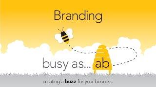 branding - die Schaffung eines Summen für Ihr Unternehmen - damit beschäftigt, wie Eine B