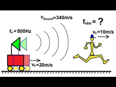 Physics - Mechanics: Sound and Sound Waves (21 of 47) Doppler Shift