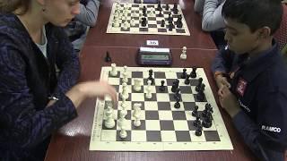 WIM Guseva vs IM Praggnanandhaa