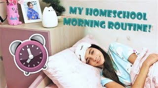 MY HOMESCHOOL MORNING ROUTINE!   || SSnS