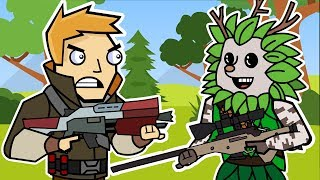 Bush Ranger & Weeping Woods | The Squad (Fortnite Animation)