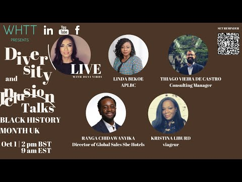 Diversity and Inclusion Talks Episode 4 Black History Month UK