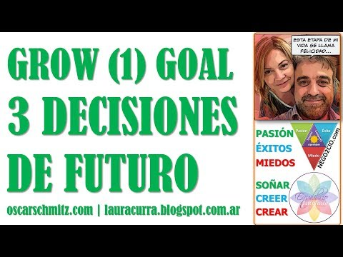 GROW (1) GOAL: Las 3 decisiones de futuro @EPsicofisico @SchmitzOscar #coaching #psicofisico