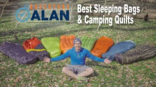 Best Sleeping Bags & Camṗing Quilts for Backpacking 2020