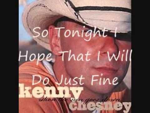 Kenny Chesney Anything But Mine with lyrics_0001