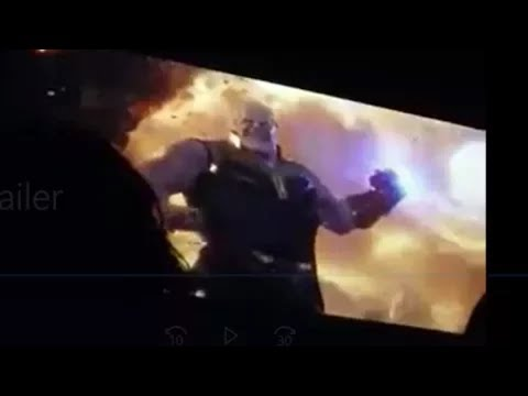 Avenger : The Infinity War  Official Trailer || Leaked Footage