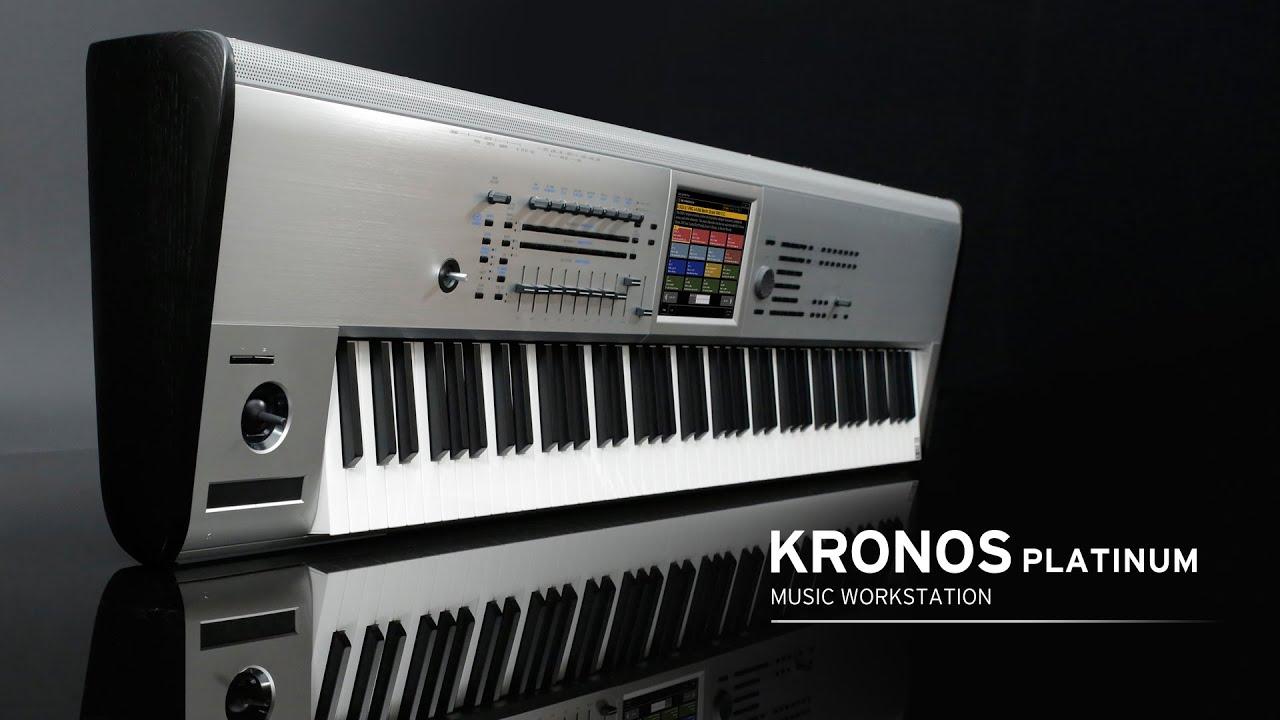 KRONOS Platinum - MUSIC WORKSTATION | KORG (USA)